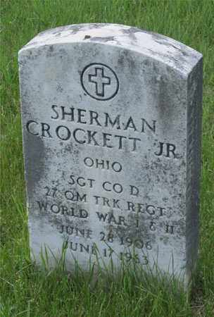 CROCKETT, JR., SHERMAN - Franklin County, Ohio | SHERMAN CROCKETT, JR. - Ohio Gravestone Photos