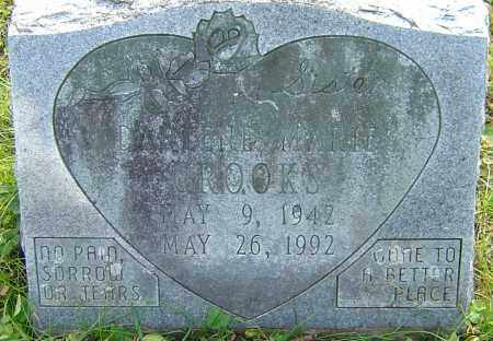 CROOKS, DARLENE - Franklin County, Ohio   DARLENE CROOKS - Ohio Gravestone Photos