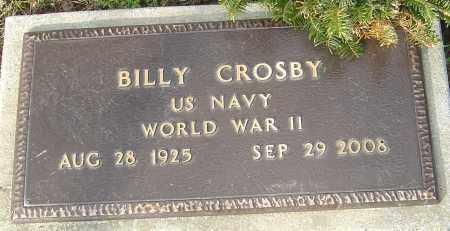 CROSBY, BILLY - Franklin County, Ohio   BILLY CROSBY - Ohio Gravestone Photos