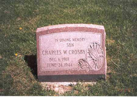 CROSBY, CHARLES W - Franklin County, Ohio | CHARLES W CROSBY - Ohio Gravestone Photos