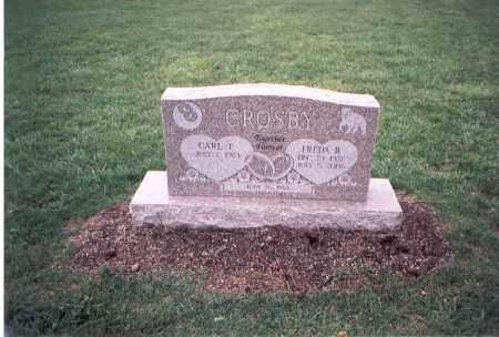 CROSBY, FREDA B. - Franklin County, Ohio | FREDA B. CROSBY - Ohio Gravestone Photos