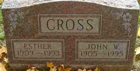 CROSS, ESTHER - Franklin County, Ohio | ESTHER CROSS - Ohio Gravestone Photos