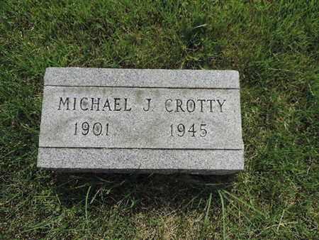 CROTTY, MICHAEL J. - Franklin County, Ohio   MICHAEL J. CROTTY - Ohio Gravestone Photos