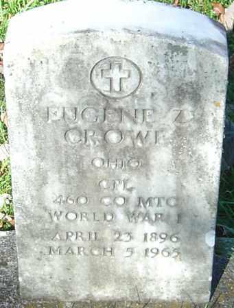 CROWE, EUGENE Z - Franklin County, Ohio | EUGENE Z CROWE - Ohio Gravestone Photos