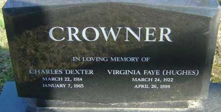 CROWNER, VIRGINIA FAYE - Franklin County, Ohio | VIRGINIA FAYE CROWNER - Ohio Gravestone Photos