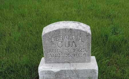 CUA, GERALD A - Franklin County, Ohio   GERALD A CUA - Ohio Gravestone Photos