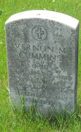 CUMMINS, VERNON M. - Franklin County, Ohio | VERNON M. CUMMINS - Ohio Gravestone Photos