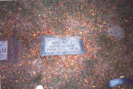 CUNNINGHAM, HERBERT E. - Franklin County, Ohio   HERBERT E. CUNNINGHAM - Ohio Gravestone Photos