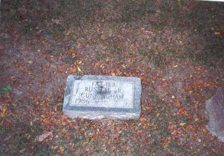 CUNNINGHAM, RUSSELL R. - Franklin County, Ohio | RUSSELL R. CUNNINGHAM - Ohio Gravestone Photos