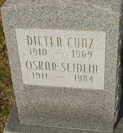 SEIDLIN, OSKAR - Franklin County, Ohio | OSKAR SEIDLIN - Ohio Gravestone Photos