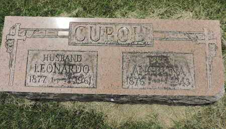 CUPOLI, LEONARDO - Franklin County, Ohio | LEONARDO CUPOLI - Ohio Gravestone Photos
