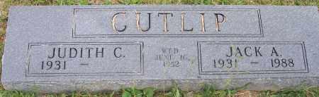 CUTLIP, JACK A. - Franklin County, Ohio   JACK A. CUTLIP - Ohio Gravestone Photos
