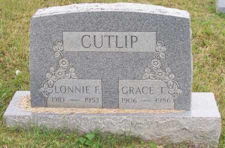 CUTLIP, LONNIE F. - Franklin County, Ohio | LONNIE F. CUTLIP - Ohio Gravestone Photos