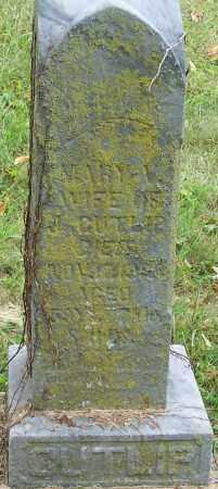 CUTLIP, MARY V. - Franklin County, Ohio | MARY V. CUTLIP - Ohio Gravestone Photos
