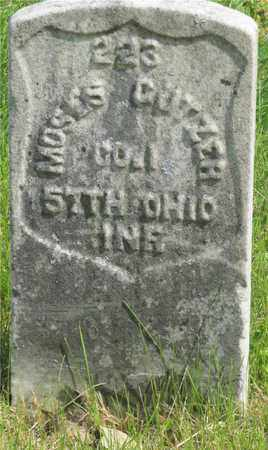 CUTZER, MOSES - Franklin County, Ohio | MOSES CUTZER - Ohio Gravestone Photos