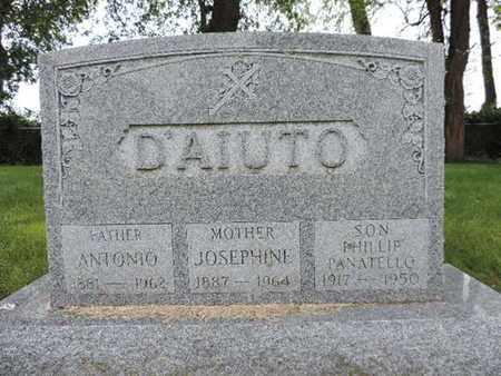 DAIUTO, ANTONIO - Franklin County, Ohio | ANTONIO DAIUTO - Ohio Gravestone Photos