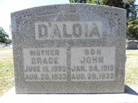 D'ALOIA, GRACE - Franklin County, Ohio | GRACE D'ALOIA - Ohio Gravestone Photos