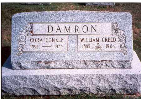 DAMRON, WILLIAM CREED - Franklin County, Ohio | WILLIAM CREED DAMRON - Ohio Gravestone Photos