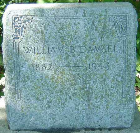 DAMSEL, WILLIAM B - Franklin County, Ohio   WILLIAM B DAMSEL - Ohio Gravestone Photos