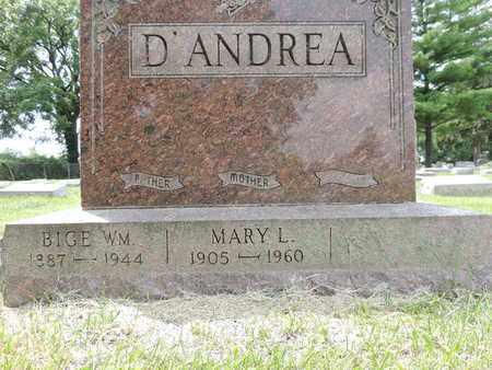D'ANDREA, MARY L. - Franklin County, Ohio   MARY L. D'ANDREA - Ohio Gravestone Photos
