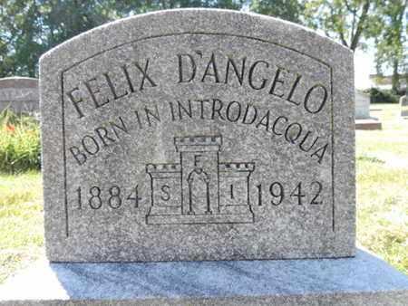 D'ANGELO, FELIX - Franklin County, Ohio | FELIX D'ANGELO - Ohio Gravestone Photos