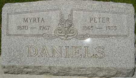 DANIELS, PETER - Franklin County, Ohio | PETER DANIELS - Ohio Gravestone Photos