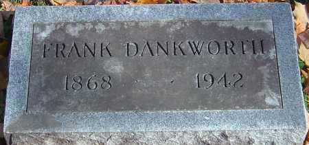 DANKWORTH, FRANK - Franklin County, Ohio | FRANK DANKWORTH - Ohio Gravestone Photos