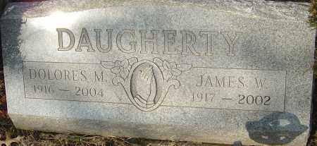 DAUGHERTY, JAMES W - Franklin County, Ohio | JAMES W DAUGHERTY - Ohio Gravestone Photos