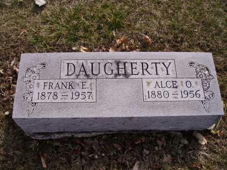 DAUGHERTY, ALCE O. - Franklin County, Ohio | ALCE O. DAUGHERTY - Ohio Gravestone Photos