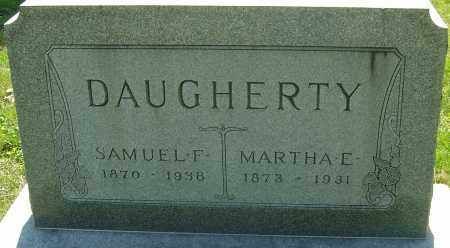 RAAB DAUGHERTY, MARTHA E - Franklin County, Ohio   MARTHA E RAAB DAUGHERTY - Ohio Gravestone Photos