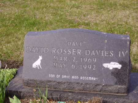 DAVIES, DAVID ROSSER, IV - Franklin County, Ohio | DAVID ROSSER, IV DAVIES - Ohio Gravestone Photos
