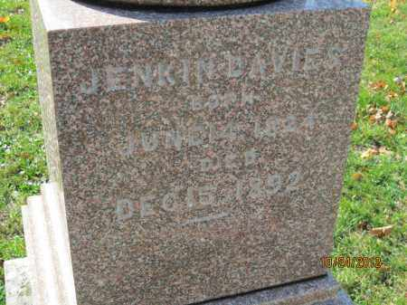 DAVIES, JENKIN - Franklin County, Ohio   JENKIN DAVIES - Ohio Gravestone Photos