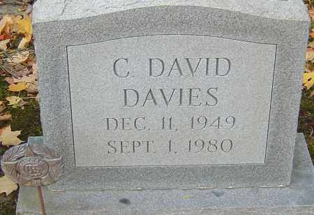 DAVIES JR, CHARLES DAVID - Franklin County, Ohio | CHARLES DAVID DAVIES JR - Ohio Gravestone Photos