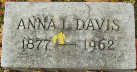 DAVIS, ANNA L - Franklin County, Ohio | ANNA L DAVIS - Ohio Gravestone Photos