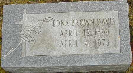 DAVIS, EDNA - Franklin County, Ohio | EDNA DAVIS - Ohio Gravestone Photos