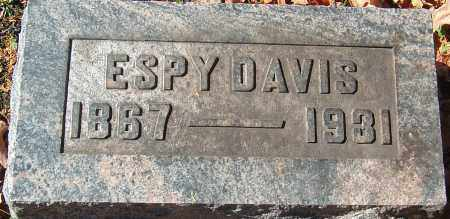 DAVIS, ESPY - Franklin County, Ohio | ESPY DAVIS - Ohio Gravestone Photos