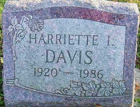 DAVIS, HARRIETTE - Franklin County, Ohio   HARRIETTE DAVIS - Ohio Gravestone Photos
