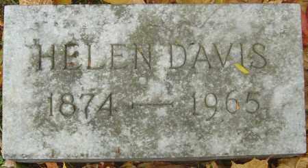 DAVIS, HELEN - Franklin County, Ohio   HELEN DAVIS - Ohio Gravestone Photos