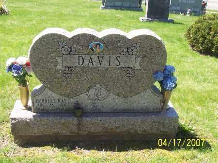 DAVIS, HERBERT R - Franklin County, Ohio   HERBERT R DAVIS - Ohio Gravestone Photos