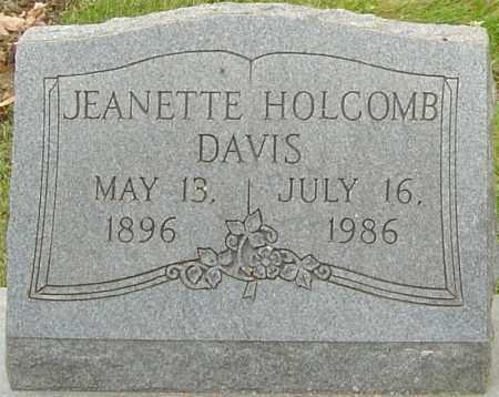 DAVIS, JEANETTE - Franklin County, Ohio | JEANETTE DAVIS - Ohio Gravestone Photos