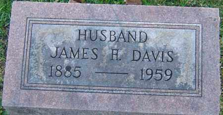 DAVIS, JAMES H - Franklin County, Ohio   JAMES H DAVIS - Ohio Gravestone Photos