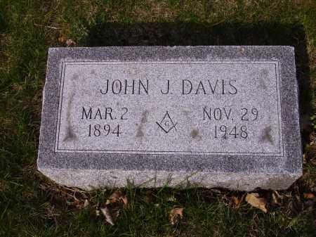 DAVIS, JOHN J. - Franklin County, Ohio | JOHN J. DAVIS - Ohio Gravestone Photos