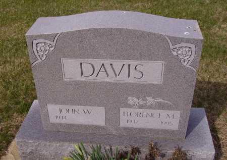 DAVIS, FLORENCE M. - Franklin County, Ohio   FLORENCE M. DAVIS - Ohio Gravestone Photos