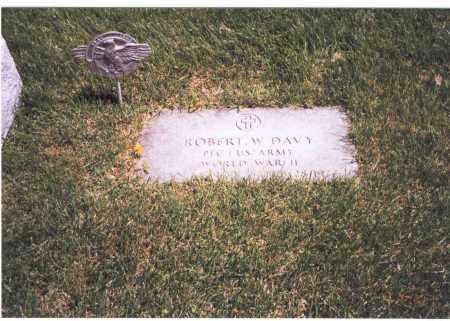 DAVY, ROBERT W. - Franklin County, Ohio | ROBERT W. DAVY - Ohio Gravestone Photos