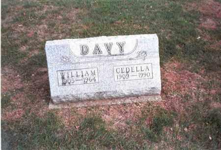 DAVY, CEDELLA - Franklin County, Ohio | CEDELLA DAVY - Ohio Gravestone Photos