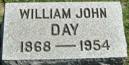 DAY, WILLIAM JOHN - Franklin County, Ohio | WILLIAM JOHN DAY - Ohio Gravestone Photos