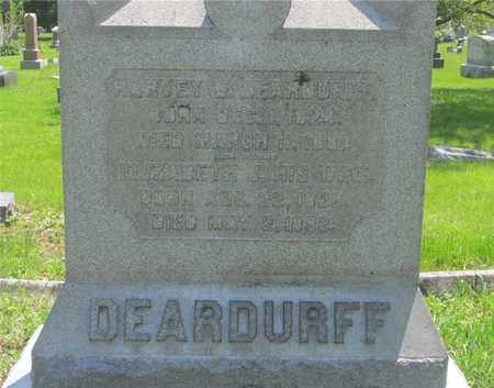 DEARDURFF, HARVEY B. - Franklin County, Ohio | HARVEY B. DEARDURFF - Ohio Gravestone Photos
