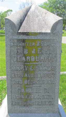 DEARDURFF, SAMUEL C. - Franklin County, Ohio | SAMUEL C. DEARDURFF - Ohio Gravestone Photos