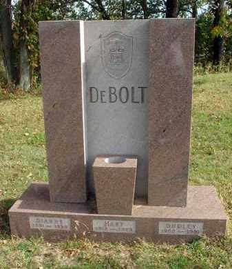 DEBOLT, DUDLEY - Franklin County, Ohio | DUDLEY DEBOLT - Ohio Gravestone Photos