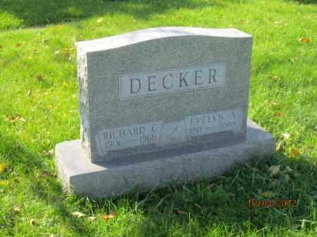 DECKER, EVELYN ANNADALE - Franklin County, Ohio | EVELYN ANNADALE DECKER - Ohio Gravestone Photos